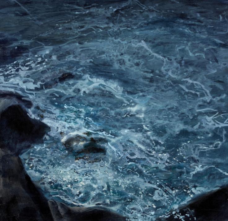 Resilience V, 2017, oil on linnen, 61 x 61 cm